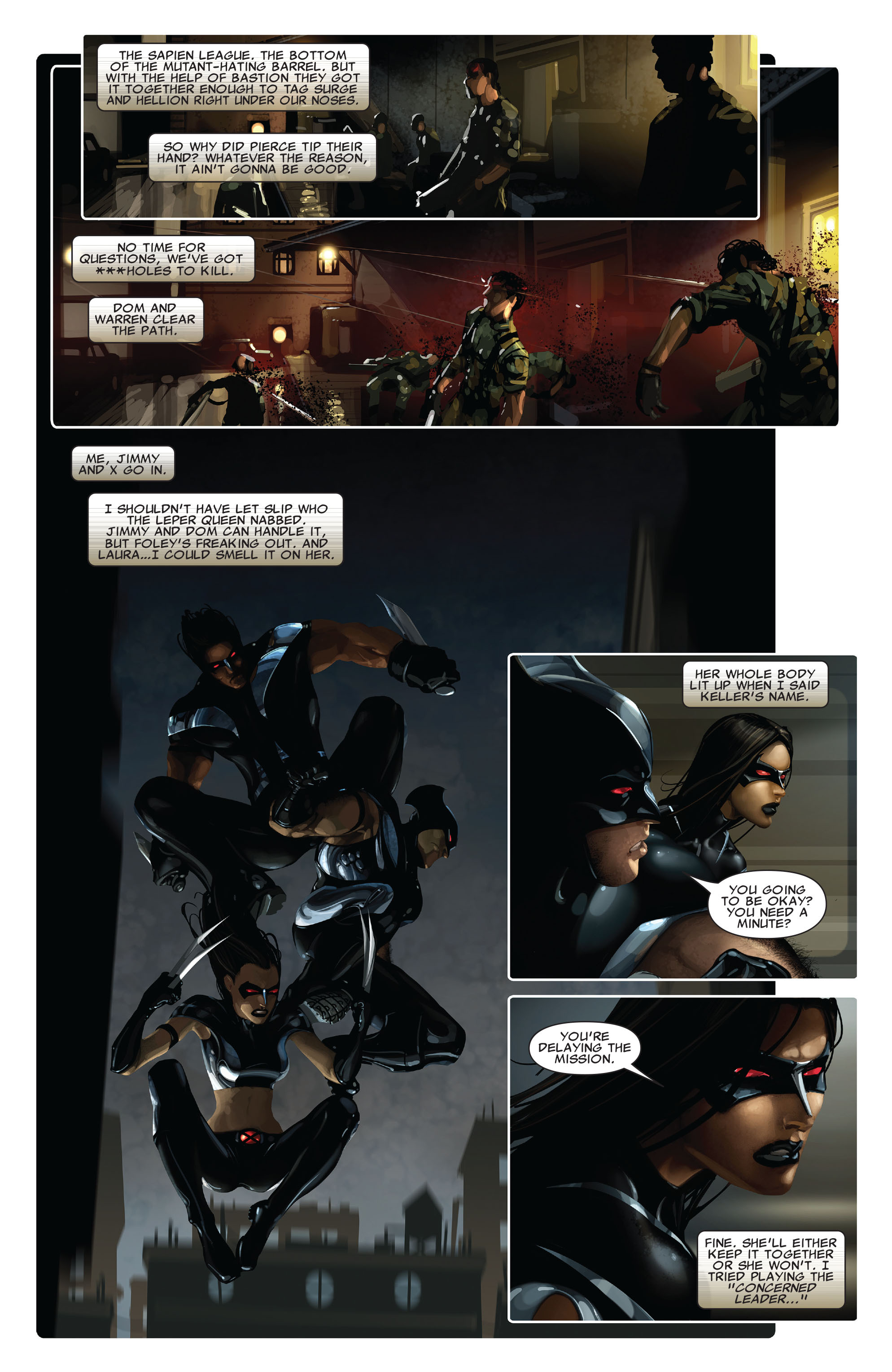 Read online X-Force (2008) comic -  Issue #13 - 18