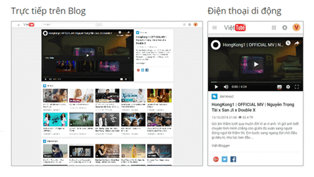 Việt Blogger Video Blogger Template - Mẫu 2