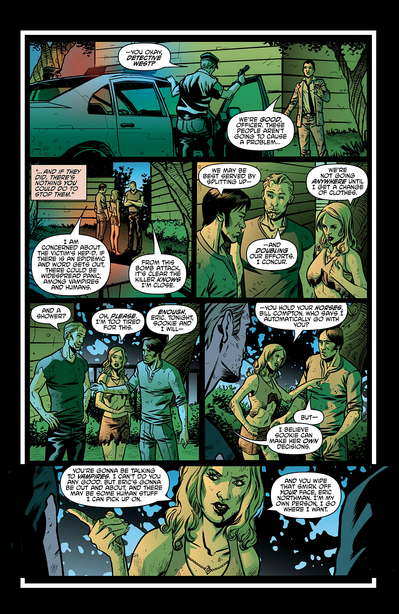 Read online True Blood: French Quarter comic -  Issue #2 - 7