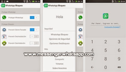 Protege tu WhatsApp con Messenger and Chat Bloquear