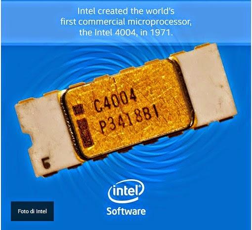 µP Intel 4004 - Fonte Intel