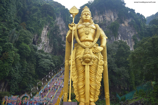 Batu Caves Murugan Temple & statue