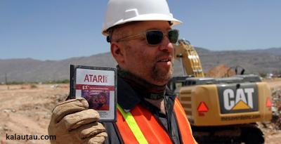 kalautau.com - Kaset Game Atari Lawas Terjual 450 juta