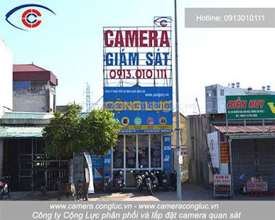 Camera Cộng Lực - Nhà cung cấp, đơn vị lắp đặt chuyên nghiệp uy tín số 1 tại Hải Phòng.