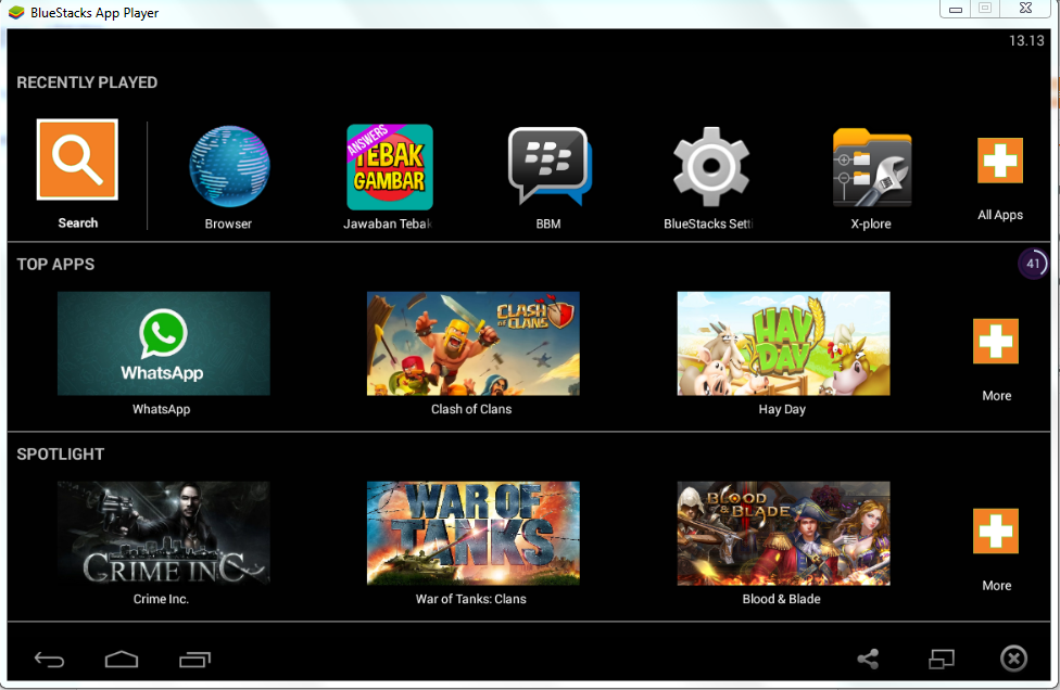 BIRAYANG KOMPUTER: Bluestacks Android Kitkat Full Offline Installer