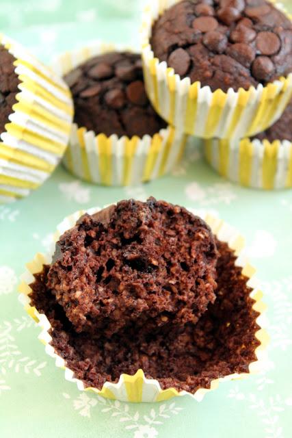 Muffins de calabaza y chocolate con pumpkin spice