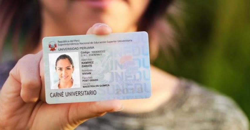 SUNEDU priorizará emisión de carné universitario para cachimbos - www.sunedu.gob.pe