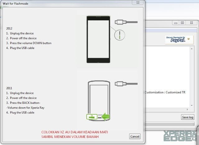 Tutorial Flash Xperia X Compact Docomo SO-02J dengan Firmware Global F5321