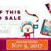 Lazada Online Revolution - Flash Sale Schedule - November 9, 2017