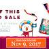 Lazada Online Revolution - Flash Sale Schedule - November 9, 2017