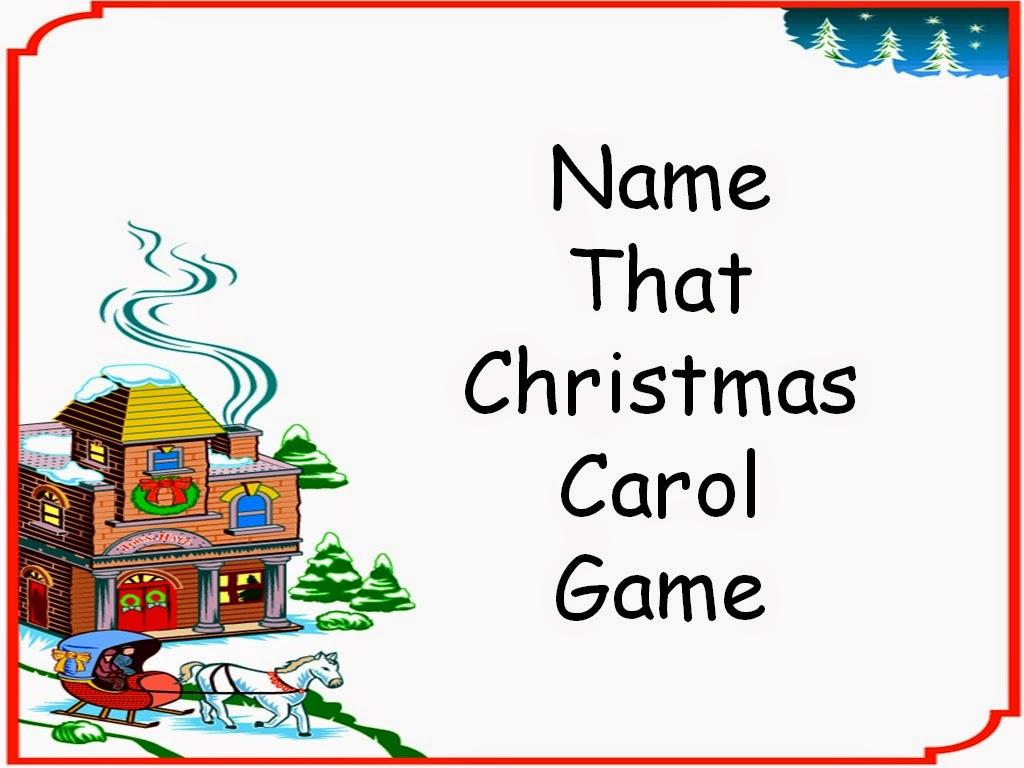 Student Survive 2 Thrive: Katrena's Name That Christmas Carol Game