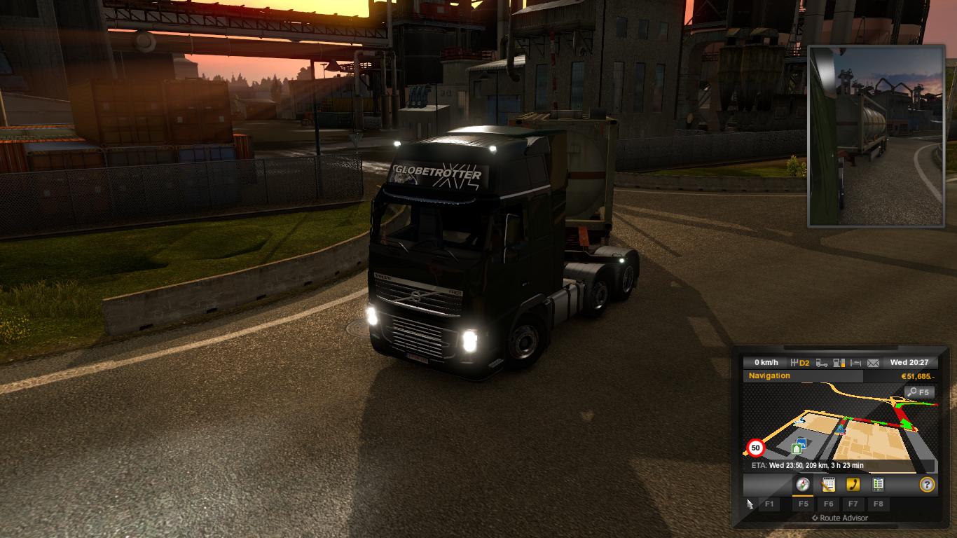 Tang Di Blog Saya Lass Dupays Selamat Da Ets2 Euro Truck Simulator 2 V130 Dan Mod Indonesia Cara Setting Joystick Pc