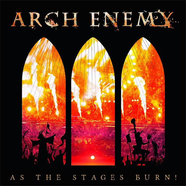 Arch Enemy, As the Stages Burn !