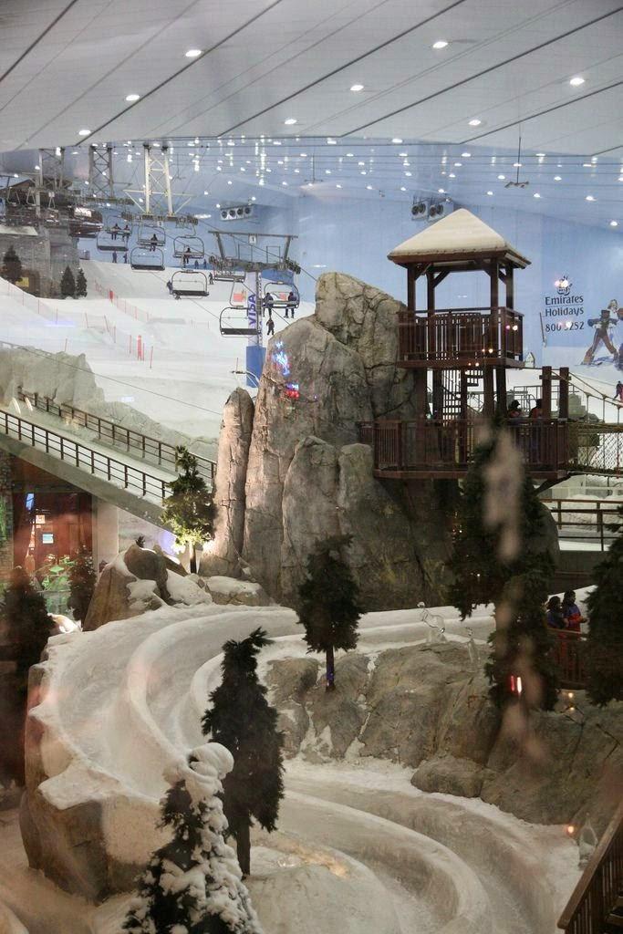 Attractive Destinations in Dubai - Ski Dubai