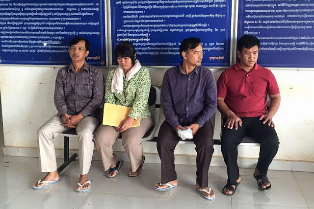 Four people were arrested yesterday following a timber heist in Preah Vihear earlier this week. GRK