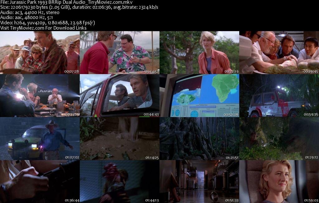 Jurassic Park 1993 BRRip Dual Audio | download free money ...