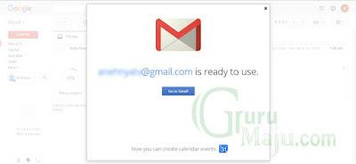 Selamat Emali Gratis Di Gmail Anda Telah Aktif