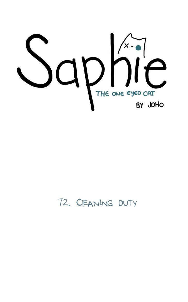 Saphie: The One-Eyed Cat - Chapter 72