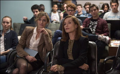 Isabelle Huppert and Anne Consigny in Elle (2)