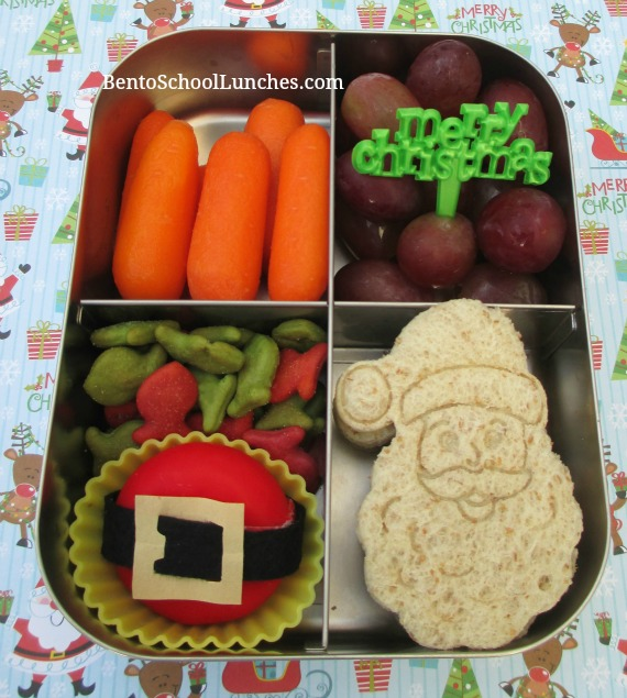 Santa Claus Christmas Bento Lunch
