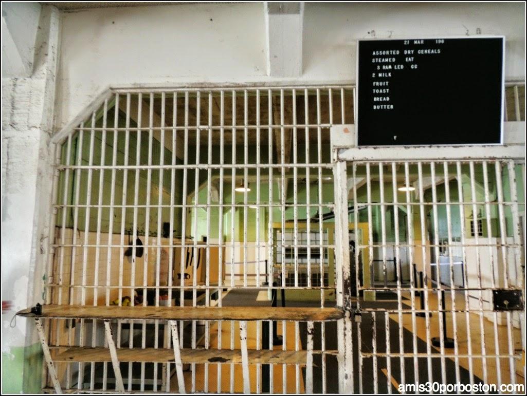 La Prisión de Alcatraz: Cocina