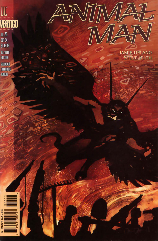 Read online Animal Man (1988) comic -  Issue #76 - 1