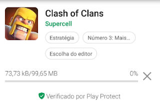 Como instalo o Clash of Clans no celular