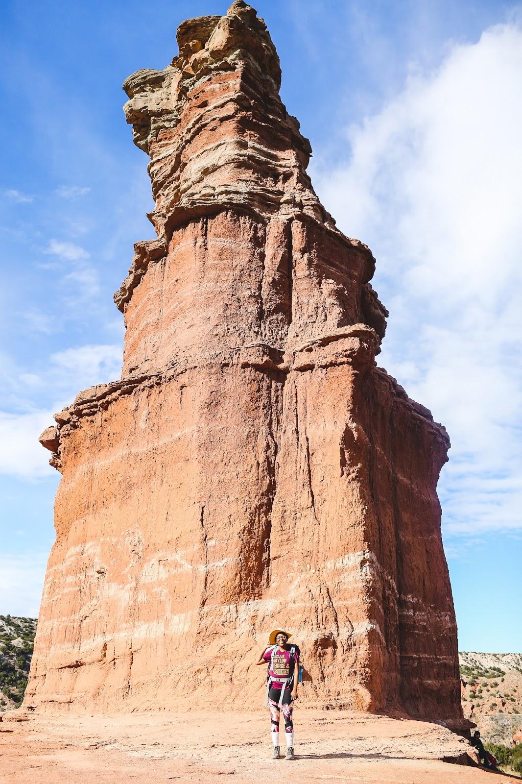 lighthouse trail Palo Duro Canyon