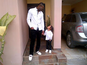 PHOTO Of The Day: Peter Okoye And Son! 1