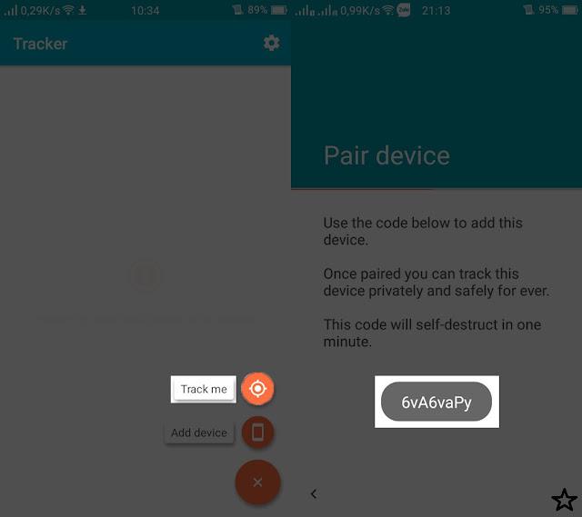 cài đặt ứng dụng theo dõi vị trí cho android