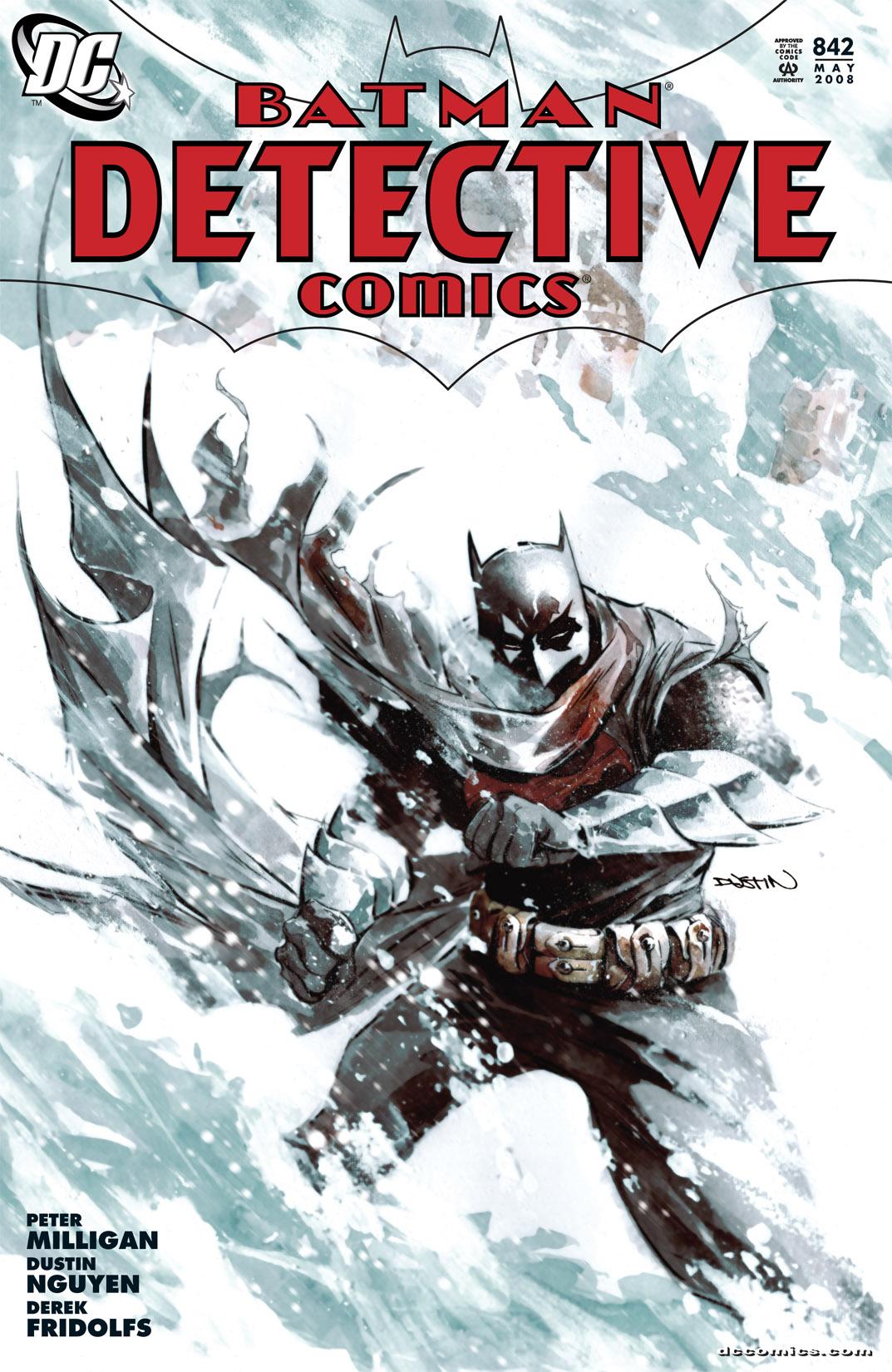 Detective Comics (1937) 842 Page 1