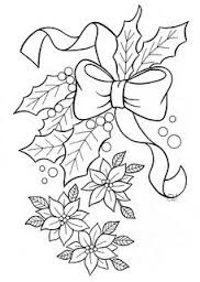 Mistletoe Coloring Page 4