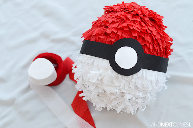 Tutorial for making a Pokemon pinata from And Next Comes L