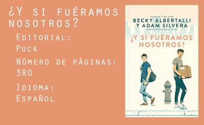¿Y Si Fuéramos Nosotros? Editorial Puck. 380 páginas. Español.