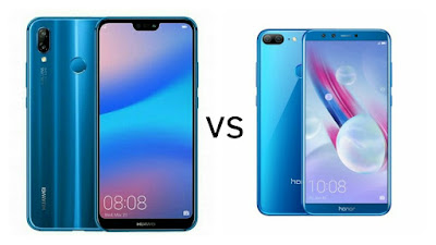 Huawei P20 Lite vs Honor 9 Lite