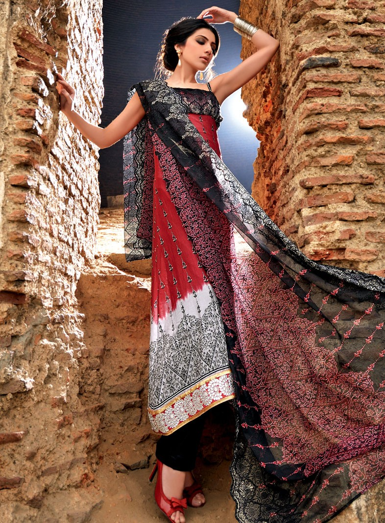 Gul Ahmed Lawn 2012-13 Collection | Latest Gul Ahmed ...