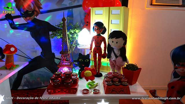 Decoração Ladybug - festa de aniversário infantil