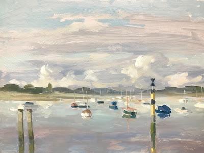 #223 'Bosham Harbour' 9×12″