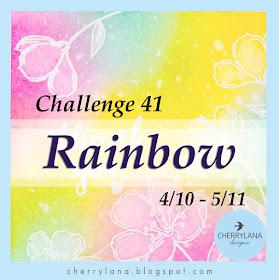 https://cherrylana.blogspot.com/2017/10/challenge-41-rainbow.html