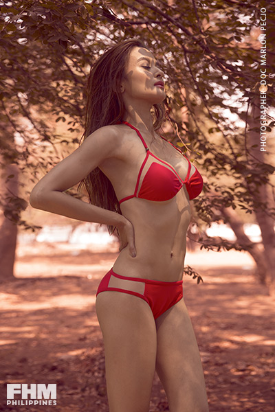 Kris Bernal red bikini