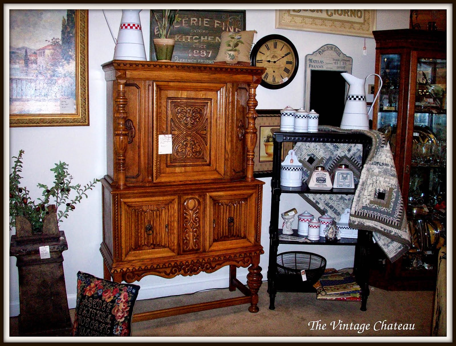 My shop Chateau Interiors located in Merchant Square Antiques, Chandler,AZ showroom #96