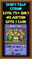 Spirit Trap - Wizard101 Card-Giving Jewel Guide