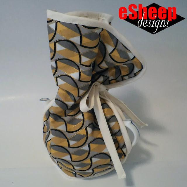 Shabby Fabrics Tea Cozy crafted by eSheep Designs