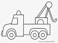 Gambar Mewarnai Mobil Derek Kumpulan Gambar Mobil Terbaru
