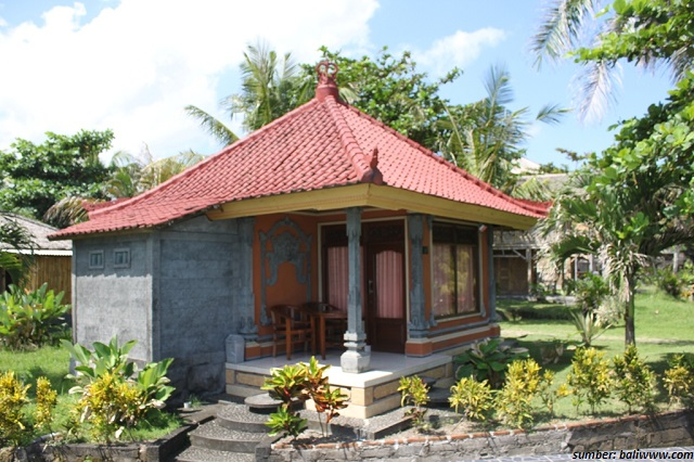 Desain Rumah Adat Bali Minimalis  Desain Gambar Rumah