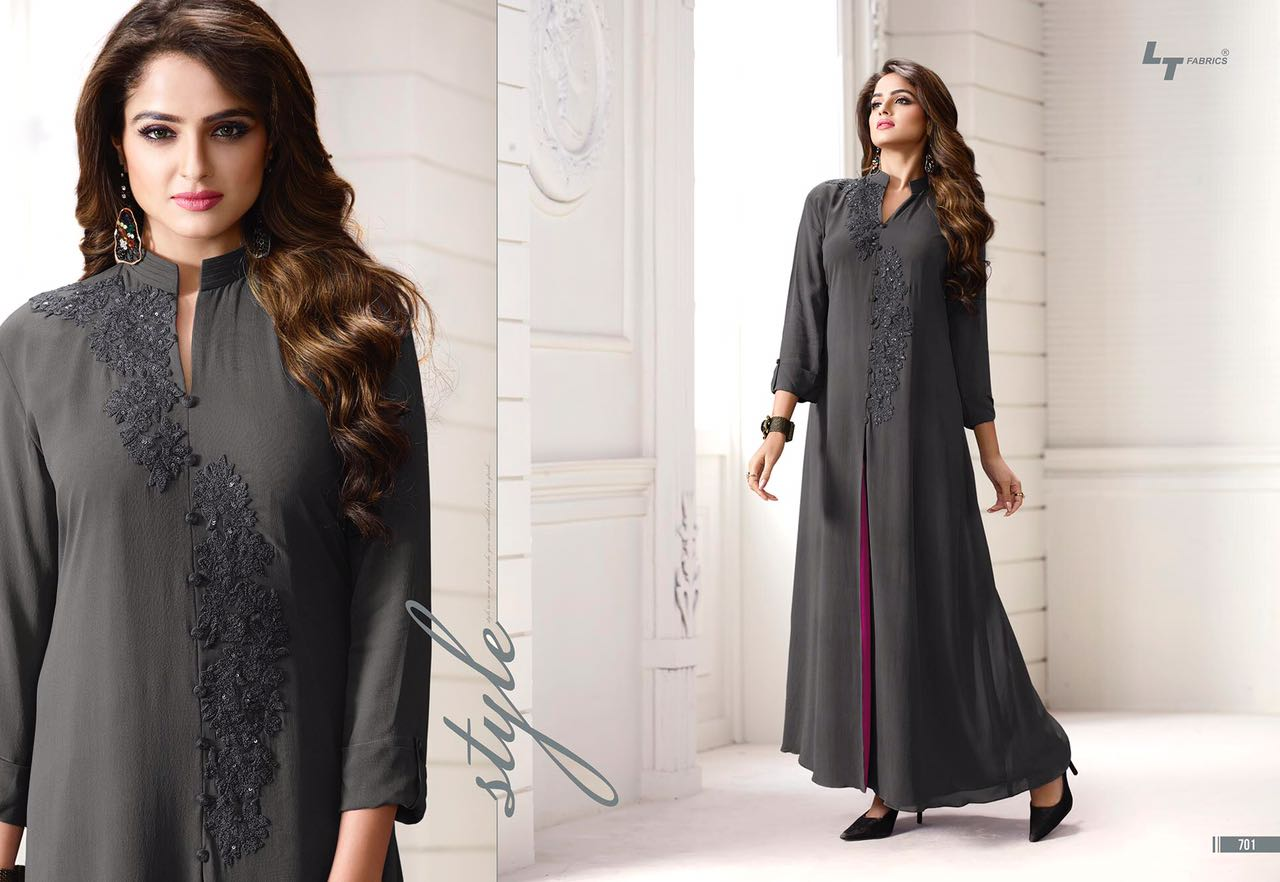 Nitya Suit Vol 7 – Latest New Collection Georgette Stylish Kurti