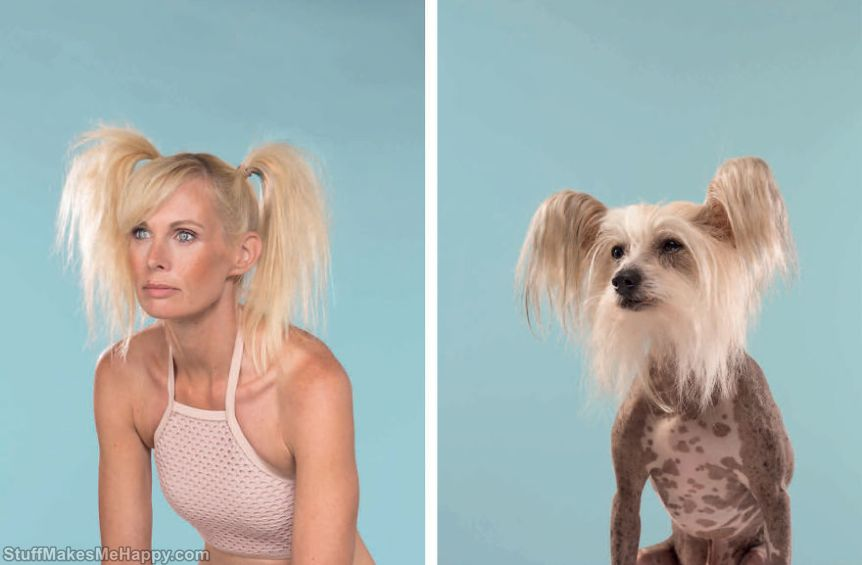 3. Charlotte & Caspar (Chinese Crested)