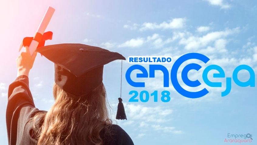 Resultados do Encceja 2018 devem ser divulgados no mês de outubro