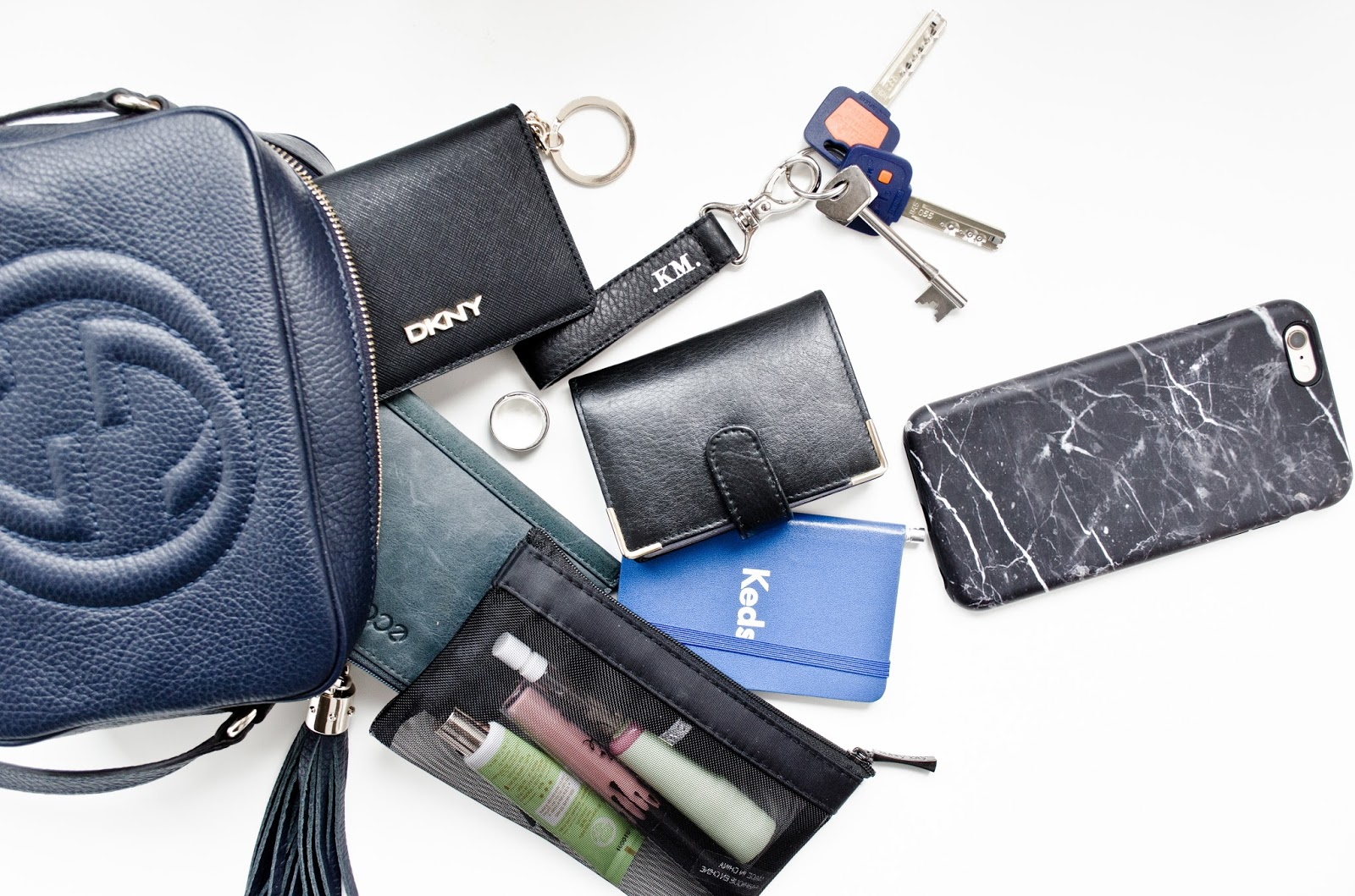 6f648d389aca WHAT S IN MY BAG! DKNY card holder - where I mainly put ID