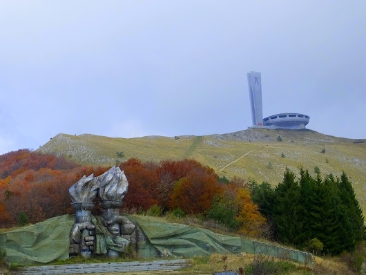 Buzludzha - A Chance to Talk about Communism and UFOs in the Same Sentence